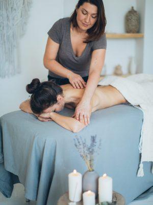 Massage bien être soin holistique